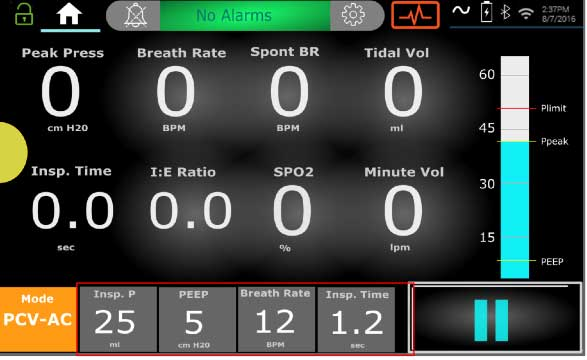 Alpha ventilator screen
